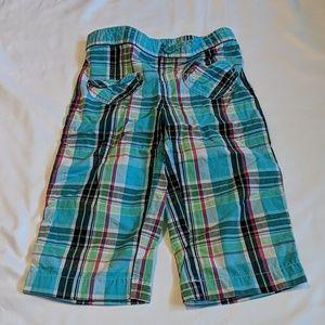 Jumping Beans Plaid Shorts